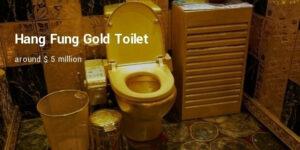 bồn cầu đắt nhất thế giới nạm vàng